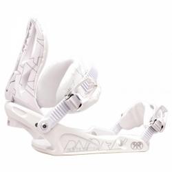 Snowboardové vázání pro ženy a dívky NITRO RAIDEN DECO whiteout
