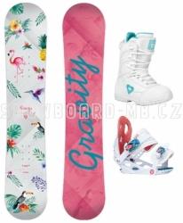 Dětský snowboard set Gravity Fairy