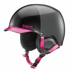 Dámská helma Bern Muse satin black hatstyle