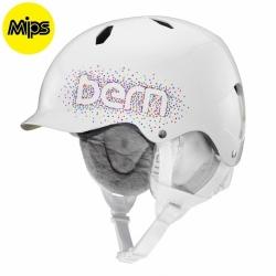 Dívčí helma Bern Bandita MIPS gloss white confetti