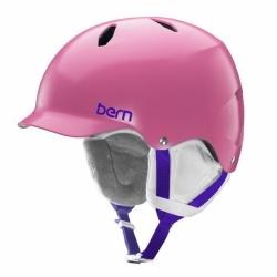 Dívčí helma Bern Bandita satin pink