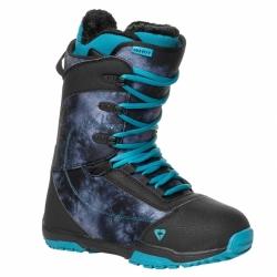 Dámský snowboard komplet Raven Pearl black/blue-2