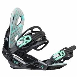 Dámský snowboard komplet Raven Pearl black/blue-3