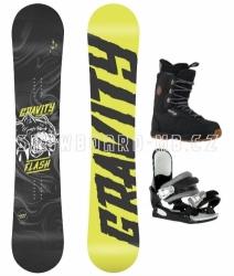 Juniorský chlapecký snowboard komplet Gravity Flash