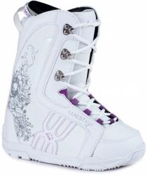 Dívčí snowboard komplet Gravity Fairy white-2