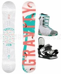 Dámský snowboard komplet Gravity Mist 2018