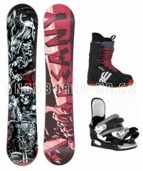 Snowboard komplet Beany Hell (boty 39, 40, 41, 42)