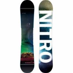 Snowboard Nitro Team Exposure Wide Gullwing 2019