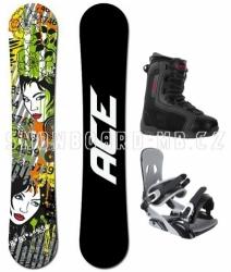 Snowboardový allmountain komplet Ace Vixen