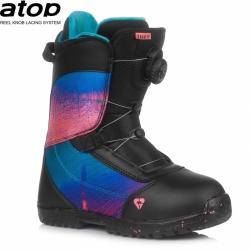 Dětské boty Gravity Micra Atop black/pink