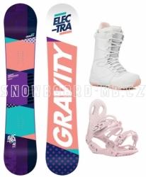 Dámský snowboardový komplet Gravity Electra 2018/2019
