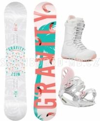 Dámský komplet Gravity Mist s botami světle růžová kombinace