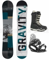 Allmountain snowboard komplet Gravity Adventure