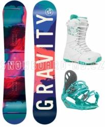 Dívčí snowboardový komplet Gravity Fairy pro větší děti