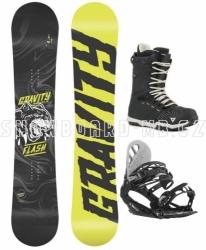 Junior snowboard komplet Gravity Flash (větší boty)