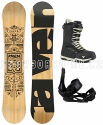 Snowboard komplet Raven Solid