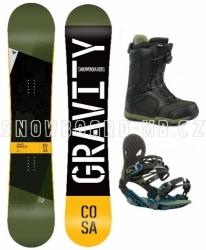 Snowboard komplet Gravity Cosa (boty s kolečkem)