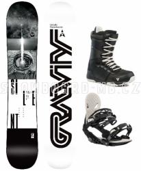 Snowboard komplet Gravity Silent 2019/20