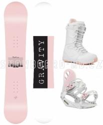 Dámský snb komplet Gravity Mist white/pink