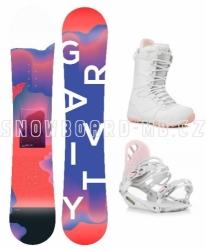 Dámský komplet Gravity Sirene white/pink