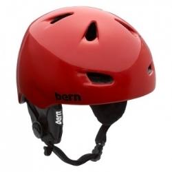 Chlapecká helma Bern Chico Zipmold - Earpads red