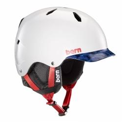 Dětská helma Bern Bandito satin patriot brimstyle 2019/20