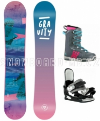 Dámský snowboardový komplet Gravity Voayer 2020/21