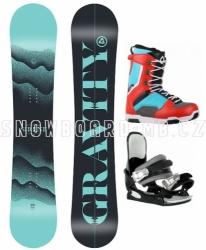 Dámský snowboardový komplet Gravity Sirene 2020/21