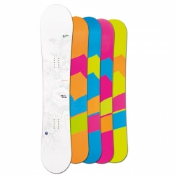 Dámský snowboard FTWO WHITE DECK LADY Double Camber 15/16