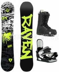 Dětský snowboard komplet Raven Core junior