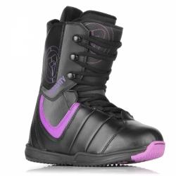 Snowboardové boty dámské Gravity Thunder black/purple černé/fialové