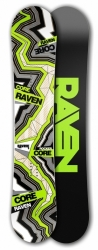 Freestyle snowboard Raven Core Carbon