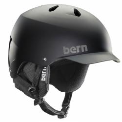 Snowboardová helma Bern Watts matte black/grey grim