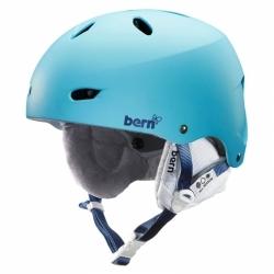 Snowboardová helma Bern Brighton matte bluebird