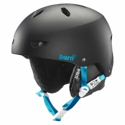 Snowboardová helma Bern Brighton matte black