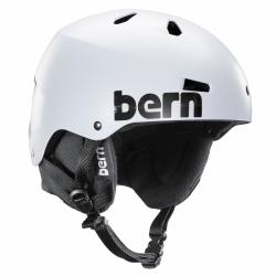Snowboardová helma Bern Macon satin white